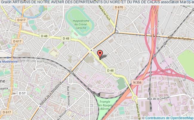 plan association Artisans De Notre Avenir Des Departements Du Nord Et Du Pas De Calais