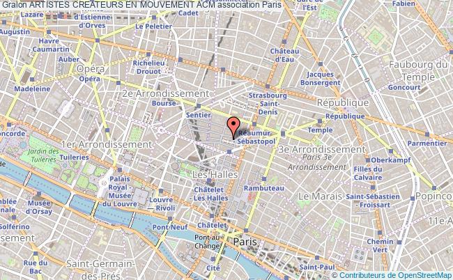 plan association Artistes Createurs En Mouvement Acm