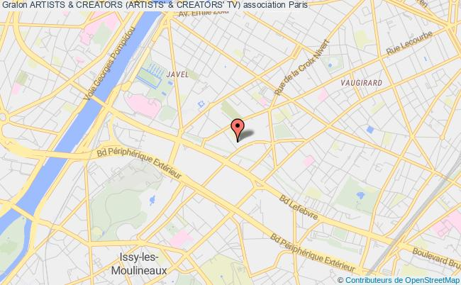 plan association Artists & Creators (artists' & Creators' Tv) Malakoff
