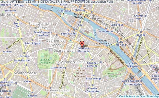 plan association Artness- Les Amis De La Galerie Philippe Lawson