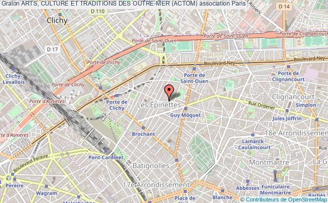plan association Arts, Culture Et Traditions Des Outre-mer (actom)