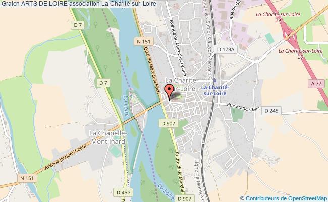 plan association Arts De Loire