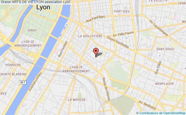 plan association Arts De Vie Lyon