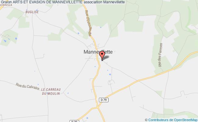 plan association Arts Et Evasion De Mannevillette Mannevillette