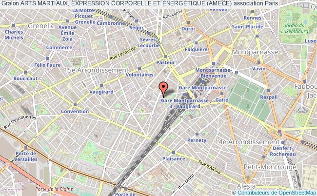 plan association Arts Martiaux, Expression Corporelle Et ÉnergÉtique (amece)