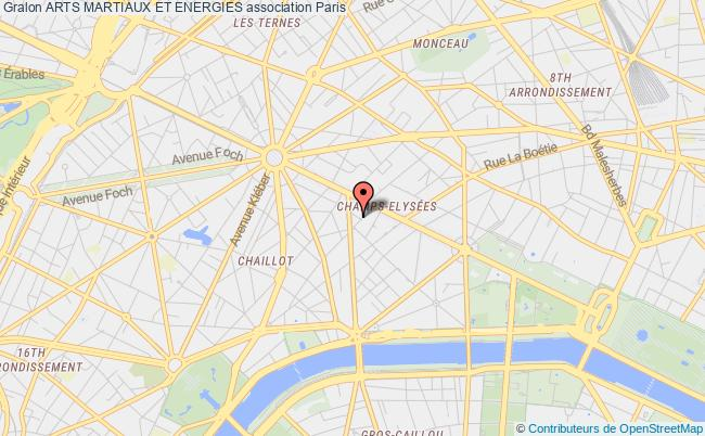 plan association Arts Martiaux Et Energies