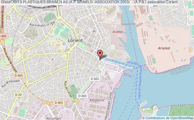 plan association Arts Plastiques Brawln As (a.p. Brawln -association 2003)  - (a.p.b.)