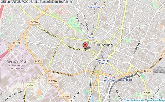 plan association Artus Pocus Lille
