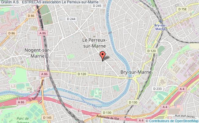 plan association A.s.  Estrelas Le Perreux-sur-Marne