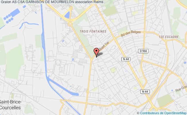 plan association As Csa Garnison De Mourmelon