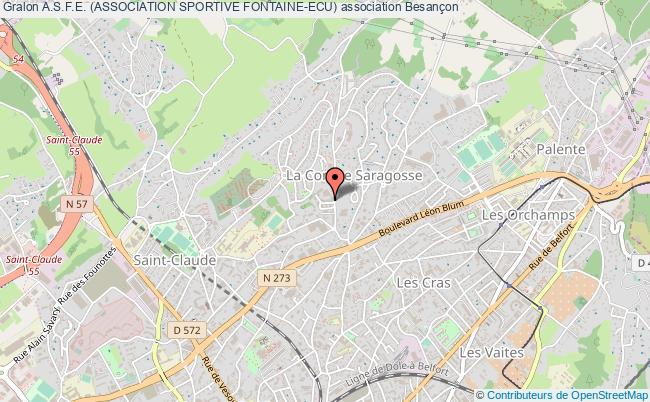 plan association A.s.f.e. (association Sportive Fontaine-ecu)