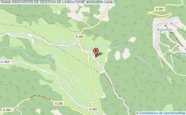 plan association Asociation De Gestion De La Boutiere Laval