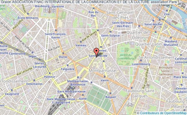 plan association Asociation Fnac Internationale De La Communication Et De La Culture