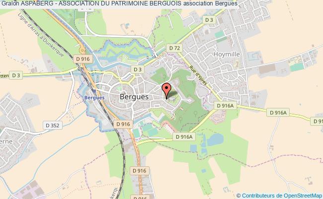plan association Aspaberg - Association Du Patrimoine Berguois
