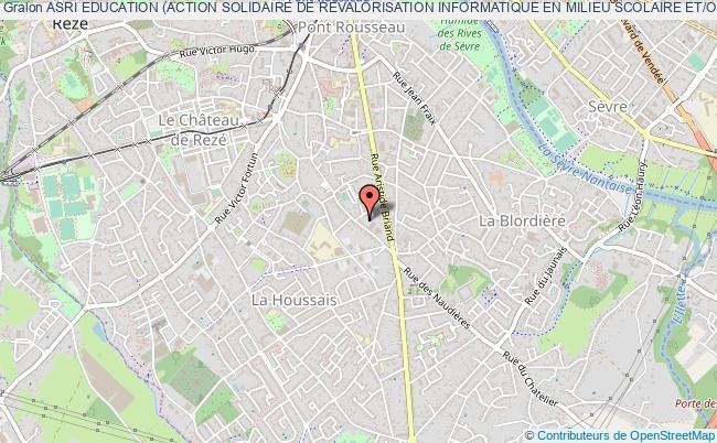 plan association Asri Education (action Solidaire De Revalorisation Informatique En Milieu Scolaire Et/ou Educatif)