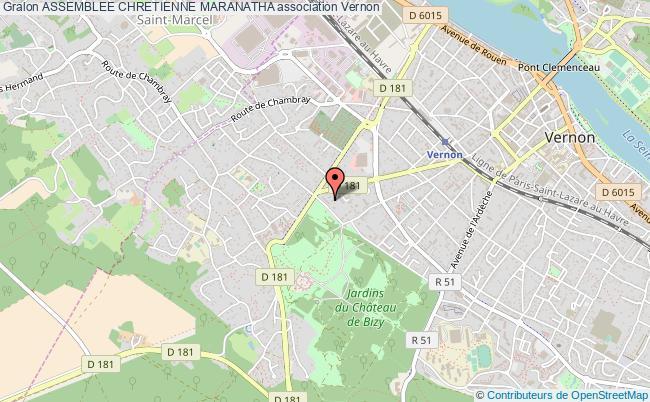 plan association Assemblee Chretienne Maranatha