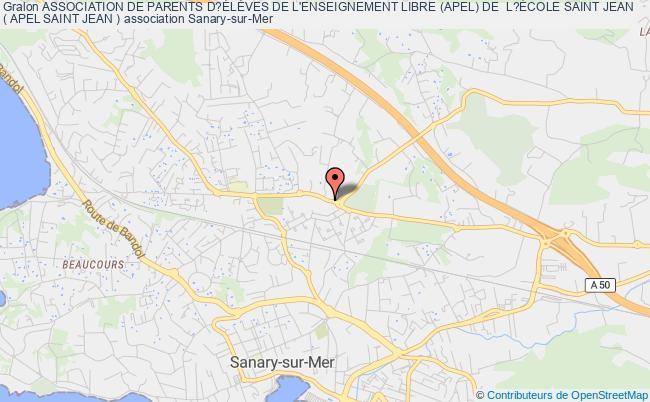 plan association Assemblee Des Parents D'eleves De L'ecole Saint Jean
