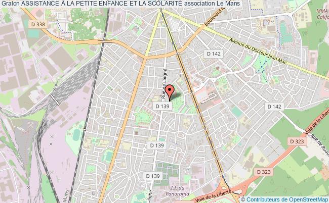 plan association Assistance À La Petite Enfance Et La ScolaritÉ