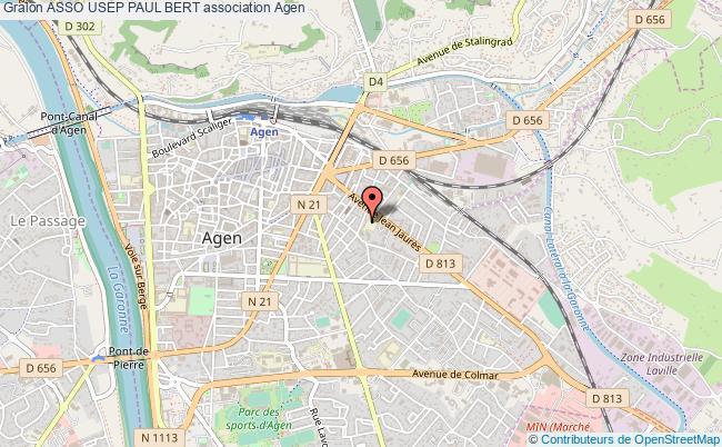 plan association Asso Usep Paul Bert