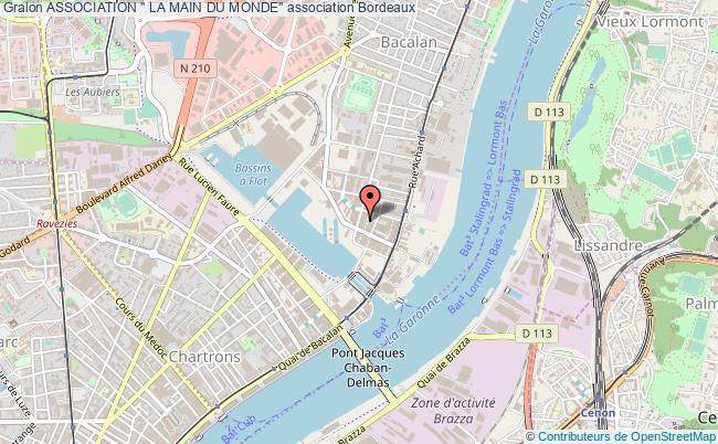 """plan association Association """" La Main Du Monde"""""""