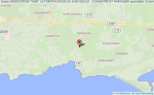 """plan association Association """"1846"""". La Fortification Du Xixe Siecle : Connaitre Et Partager"""