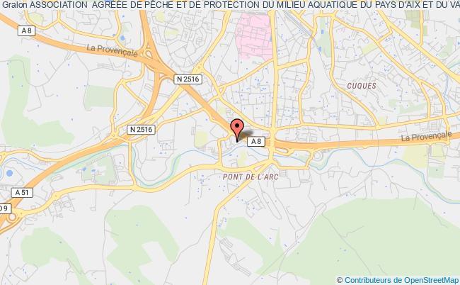 plan association Association  AgrÉÉe De PÊche Et De Protection Du Milieu Aquatique Du Pays D'aix Et Du Val De Durance Appad