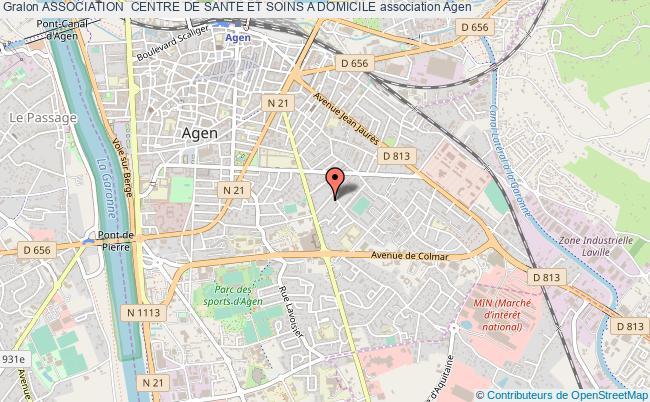 plan association Association  Centre De Sante Et Soins A Domicile