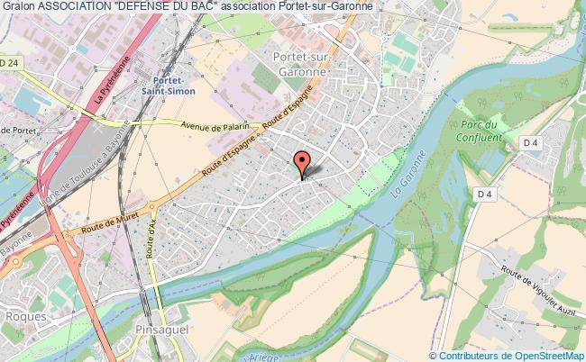 "plan association Association ""defense Du Bac"""