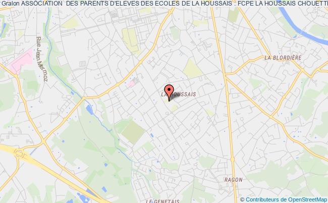 plan association Association  Des Parents D'eleves Des Ecoles De La Houssais : Fcpe La Houssais Chouette