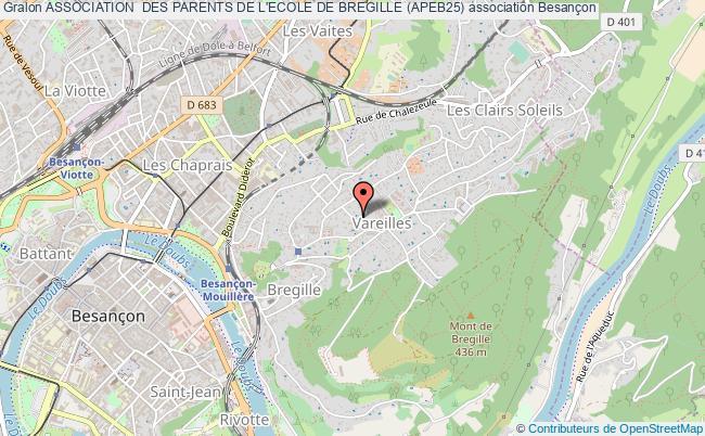 plan association Association  Des Parents De L'ecole De Bregille (apeb25)