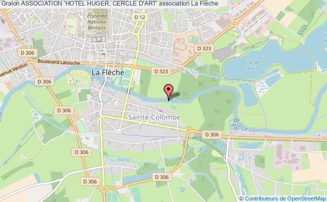 plan association Association 'hotel Huger, Cercle D'art'