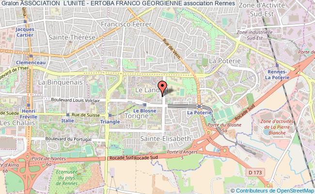 plan association Association  L'unitÉ - Ertoba Franco GÉorgienne