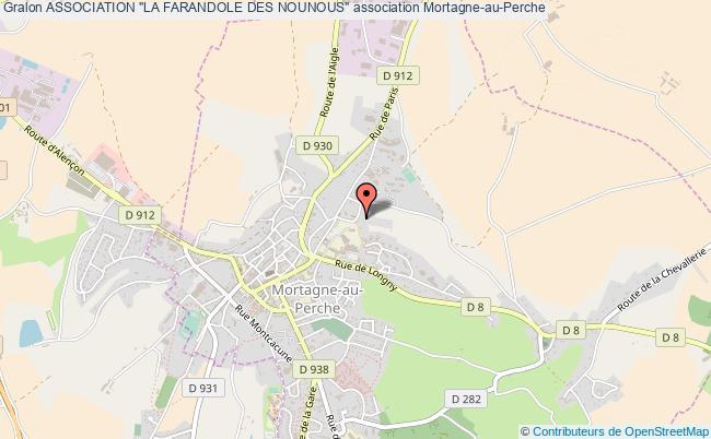 """plan association Association """"la Farandole Des Nounous"""""""