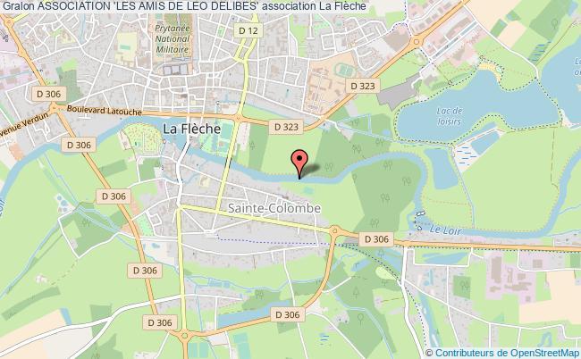 plan association Association 'les Amis De Leo Delibes'