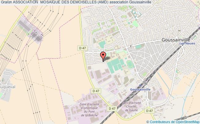plan association Association  MosaÏque Des Demoiselles (amd) Goussainville