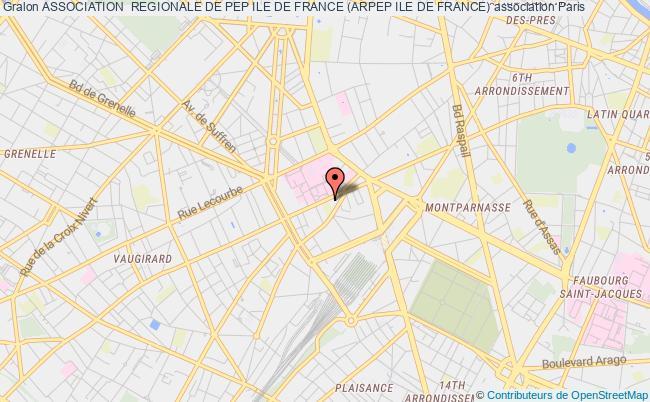 plan association Association  Regionale De Pep Ile De France (arpep Ile De France) paris