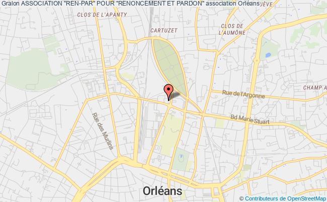 """plan association Association """"ren-par"""" Pour """"renoncement Et Pardon"""""""