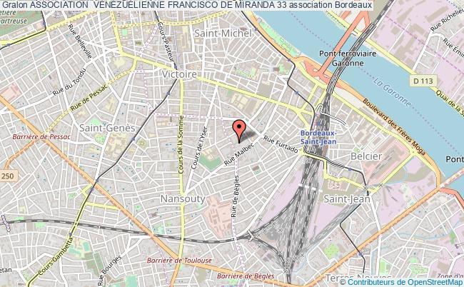 plan association Association  VÉnÉzuÉlienne Francisco De Miranda 33
