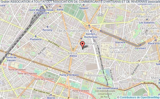 plan association Association A Tout Atout Association De Commercants D'artisans Et De Riverains
