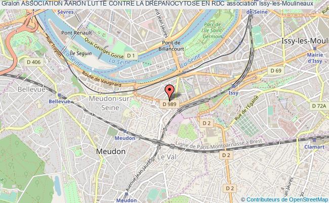 plan association Association Aaron Lutte Contre La Drepanocytose En Rdc