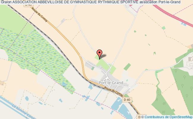 plan association Association Abbevilloise De Gymnastique Rythmique Sportive
