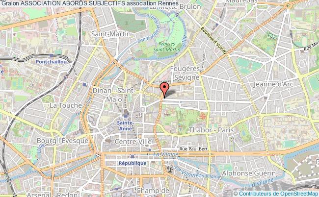 plan association Association Abords Subjectifs Rennes