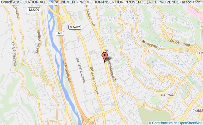 plan association Association Accompagnement-promotion-insertion Provence (a.p.i. Provence)
