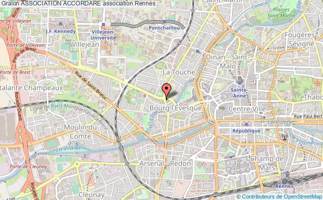 plan association Association Accordare Rennes