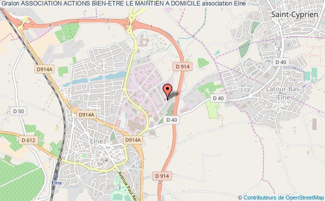 plan association Association Actions Bien-etre Le Maintien A Domicile