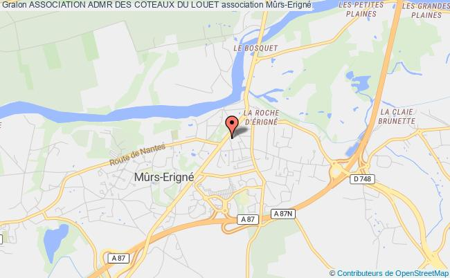 plan association Association Admr Des Coteaux Du Louet Mûrs-Erigné