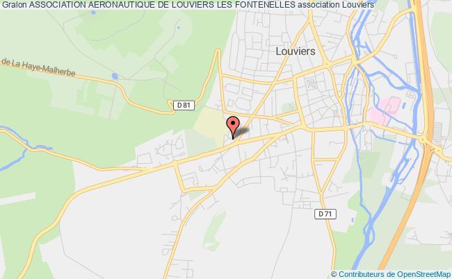 plan association Association Aeronautique De Louviers Les Fontenelles