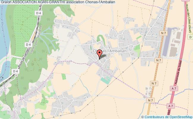 plan association Association Agan-granthi Chonas-l'Amballan