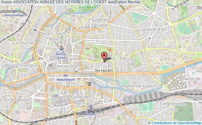 plan association Association Agreee Des Notaires De L'ouest Rennes