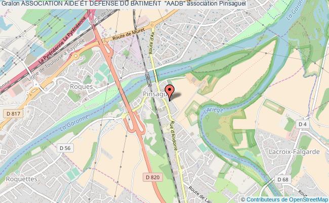 "plan association Association Aide Et Defense Du Batiment  ""aadb"""